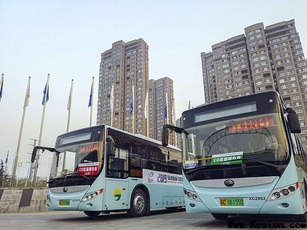 120台宇通纯电动客车助力2019徐州国际马拉松